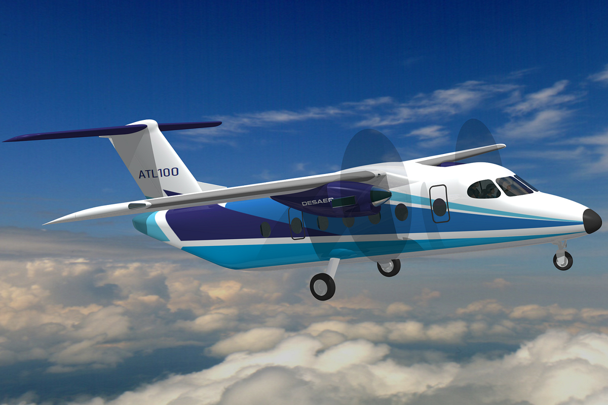 Desaer has first order for ATL-100 turboprop - Airway