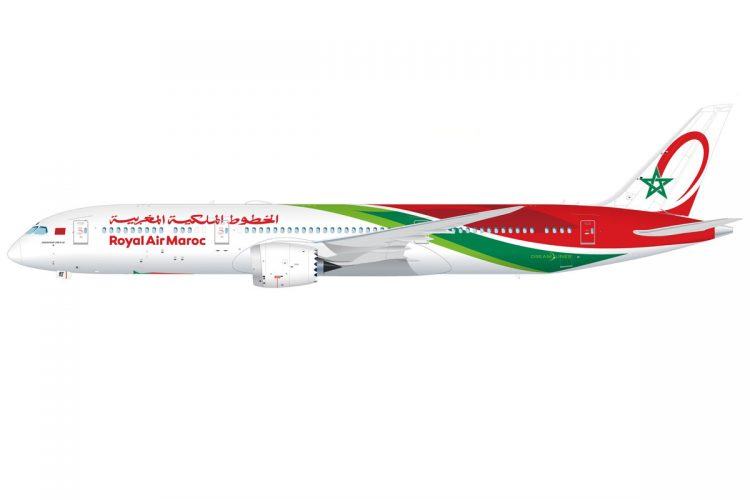 Royal Air Maroc new livery