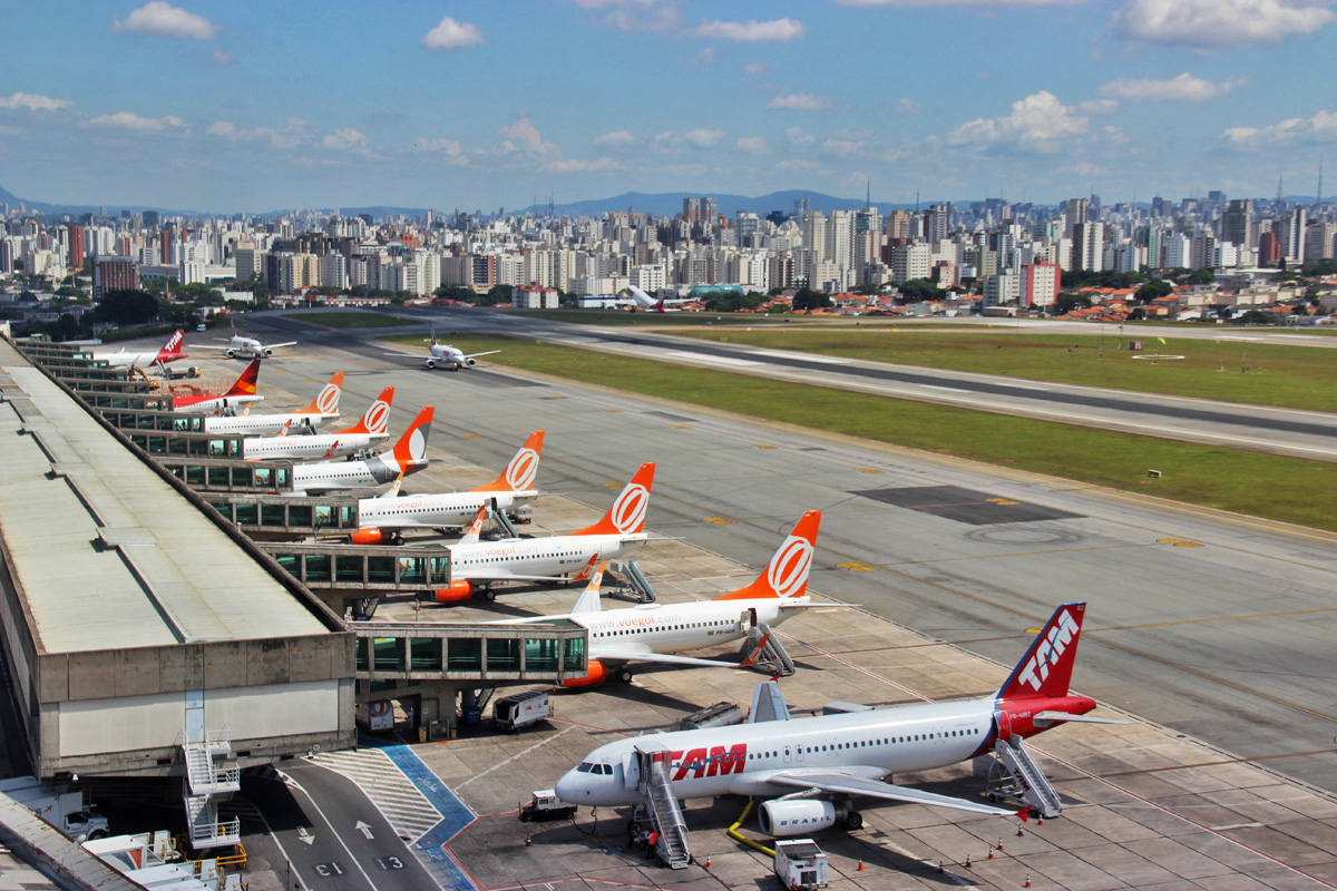 Congonhas Airport, in Sao Paulo - Airway