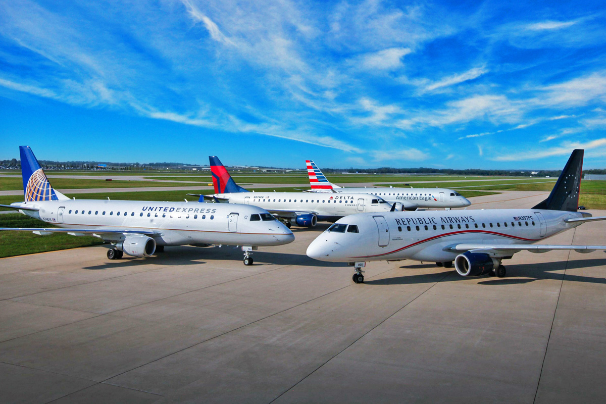 Republic Airways Furloughs 368 Employees