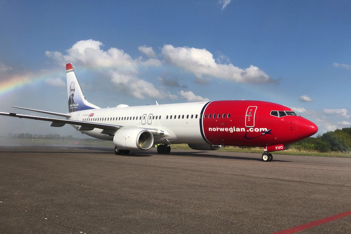 Boeing 737-800 from Norwegian Argentina