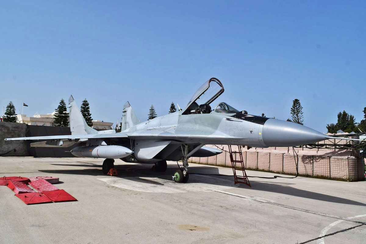 Russia delivers second batch of MiG-29 fighters to Syria - Airway