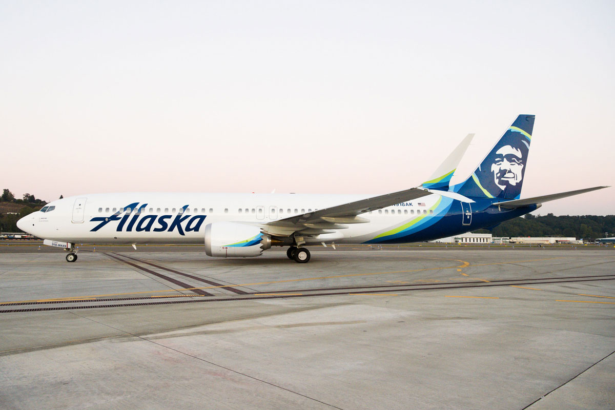 Alaskan Airlines Boosts Boeing 737 MAX Order to 120 Jets