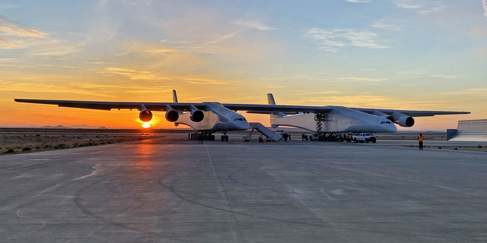 """Stratolaunch """"Roc"""" close to flying again - Air Data News (Airway)"""